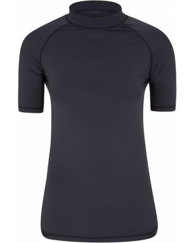 T-shirt - czarna Mountain Warehouse