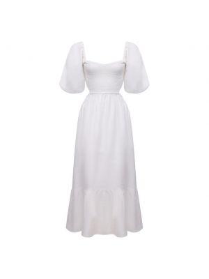 Льняное платье - белое Faithfull The Brand