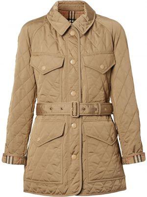 Стеганая куртка - бежевая Burberry