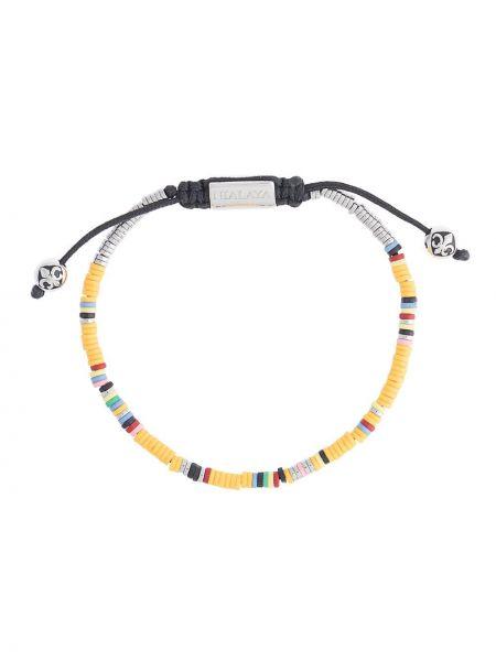 Bransoletka z koralikami żółty Nialaya Jewelry
