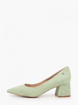 Зеленые туфли закрытые Tuffoni