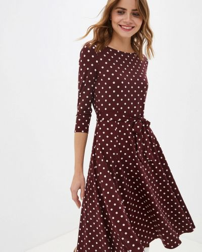Повседневное платье бордовый красный Wallis