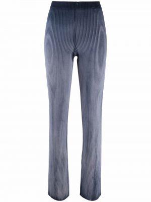Хлопковые брюки - синие Cotton Citizen