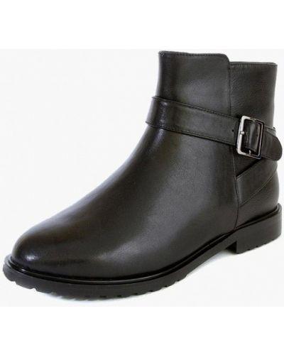 Кожаные ботинки черные кожаные M.shoes