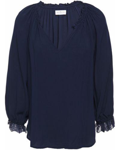 Bluzka z wiskozy Velvet By Graham & Spencer