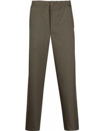 Brązowe spodnie Comme Des Garcons Homme Deux