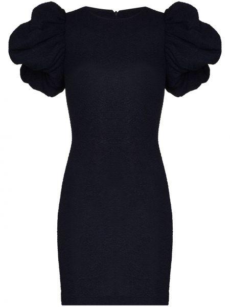 Платье мини короткое - синее Rotate