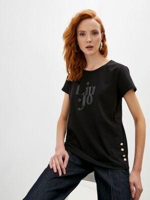 Черная итальянская футболка Liu Jo Sport