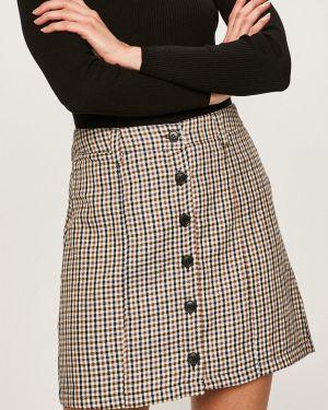 Spódnica zapinane na guziki z wiskozy na co dzień Jacqueline De Yong