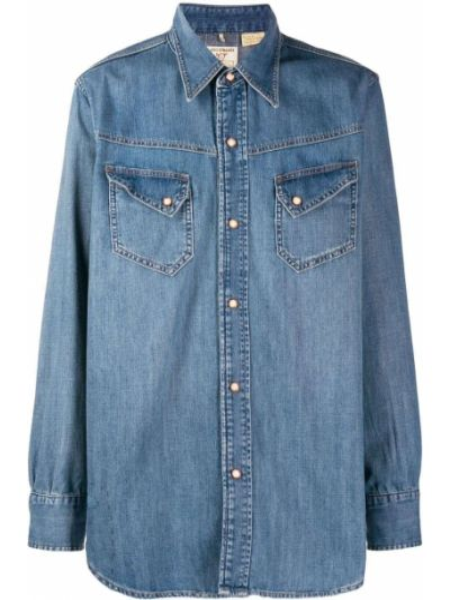 Джинсовая рубашка с карманами на кнопках Levi's Vintage Clothing