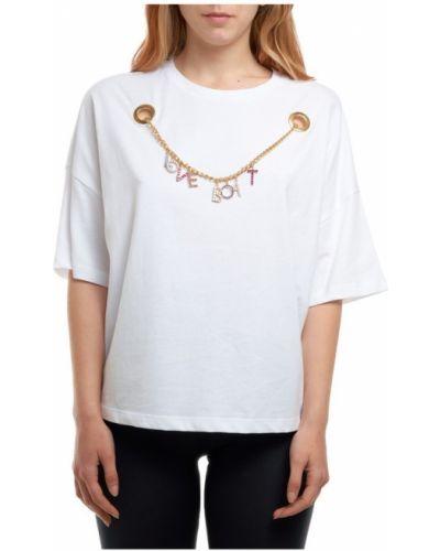 Biały t-shirt Les Bourdelles Des Garcons