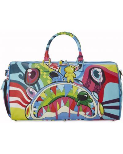 Разноцветная сумка Sprayground