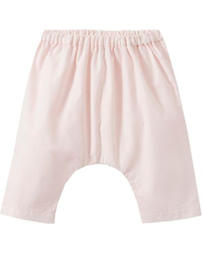 Розовые брюки Bonpoint