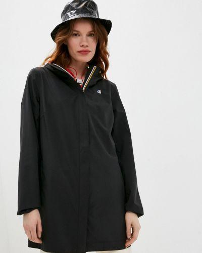 Облегченная серая куртка K-way