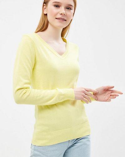 Желтый пуловер 2018 Baon