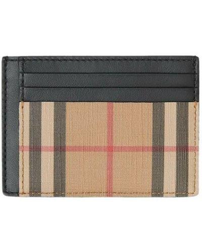Beżowy portfel Burberry