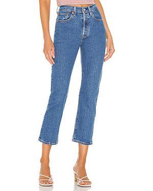 Укороченные джинсы скинни на пуговицах Levi's®