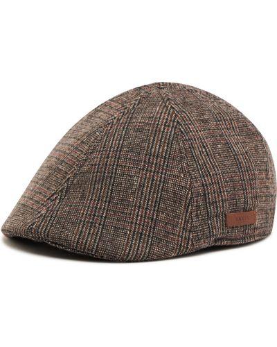 Brązowa czapka z daszkiem Barts