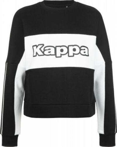 Хлопковый свитшот - черный Kappa