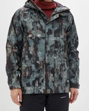 Утепленная куртка осенняя зеленая Termit
