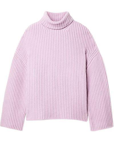 Prążkowany sweter wełniany Nanushka