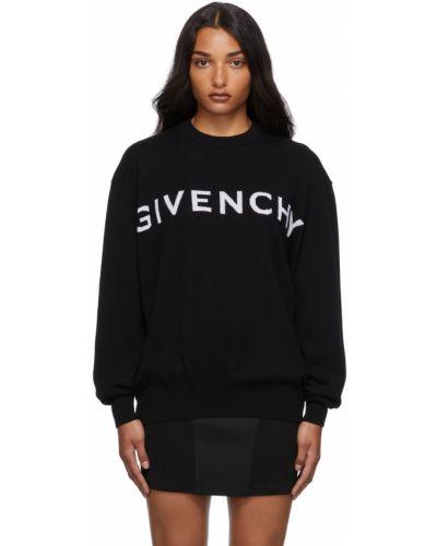 Z kaszmiru sweter - biały Givenchy