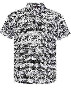 Рубашка черная из вискозы Finn Flare
