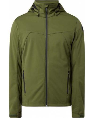 Zielona kurtka softshell z kapturem Icepeak