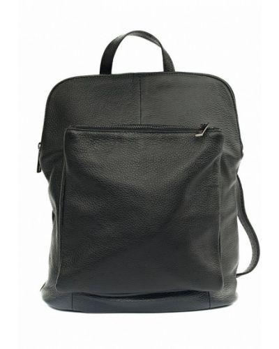 Черный кожаный рюкзак Vivat Accessories