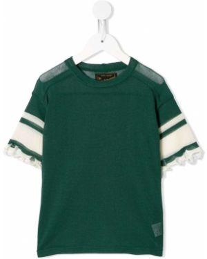 Зеленая футболка Go To Hollywood