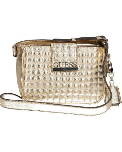 Коричневая сумка через плечо из искусственной кожи Guess