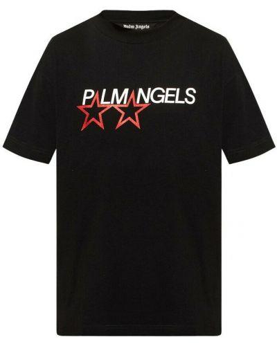 T-shirt - czarna Palm Angels