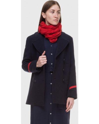 Синее пальто Polo Ralph Lauren