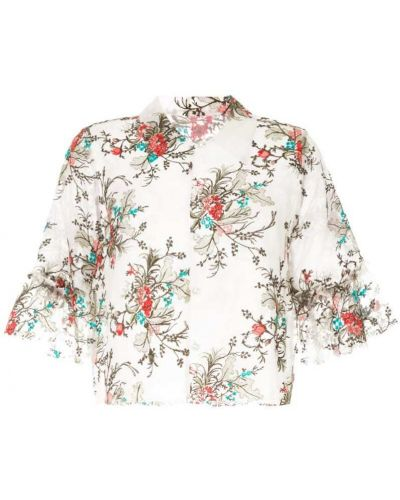 Блузка с цветочным принтом классическая Macgraw