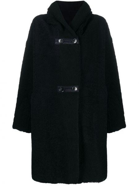 Шерстяное пальто - синее Sylvie Schimmel