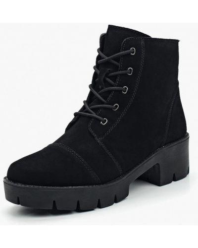 Ботинки на каблуке осенние замшевые Zenden Comfort