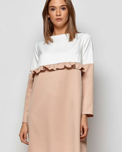 Платье осеннее прямое Karree