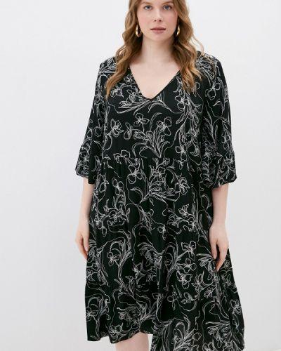Повседневное черное платье Persona By Marina Rinaldi