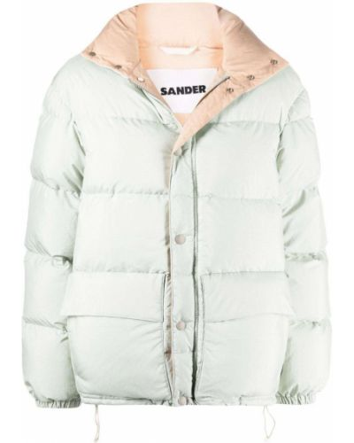 Пуховая куртка - зеленая Jil Sander