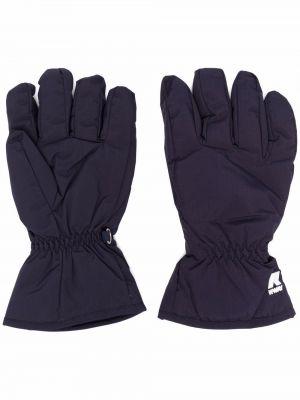 Rękawiczki - niebieskie Kway