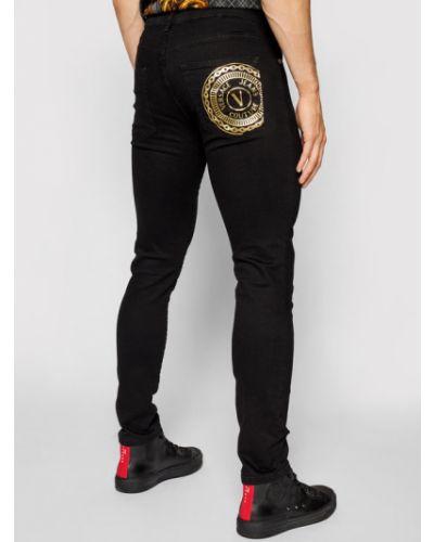 Czarne mom jeans Versace Jeans Couture