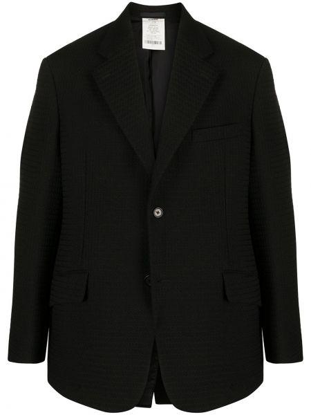 Черный классический пиджак с манжетами Jil Sander Pre-owned