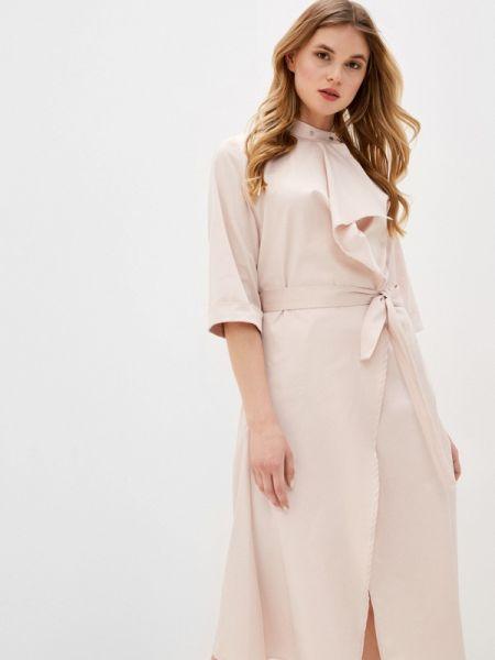 Платье - бежевое Adzhedo