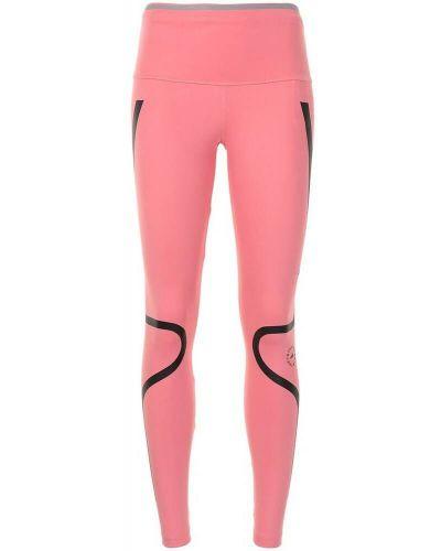 Różowe spodnie Adidas By Stella Mccartney