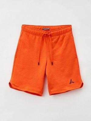 Спортивные шорты - оранжевые Jordan