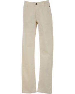 Beżowe spodnie bawełniane Siviglia
