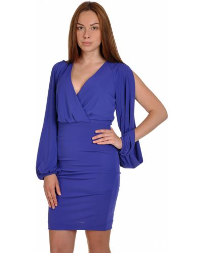 Платье весеннее фиолетовый Nicole Miller