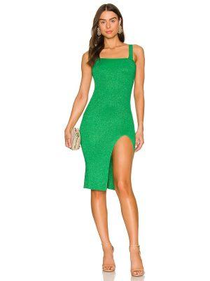 Sukienka z wiskozy - zielona Superdown