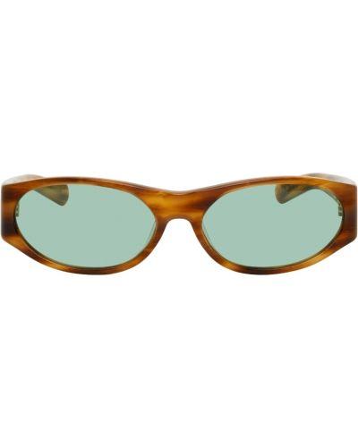 Czarne złote okulary Flatlist Eyewear