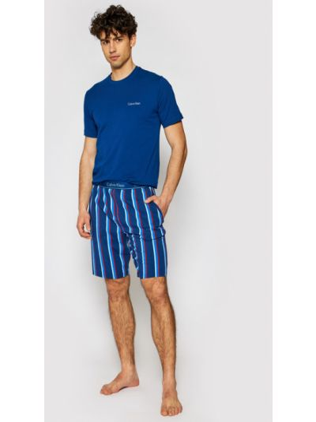 Piżama granatowa Calvin Klein Underwear